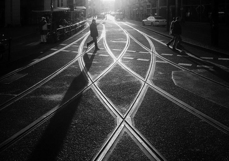 tram tracks berlin