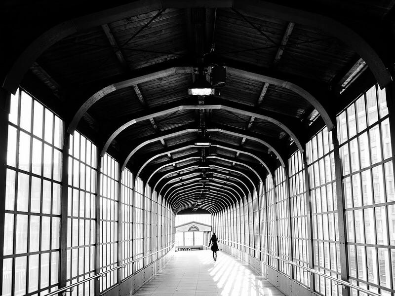 metro exit Berlin