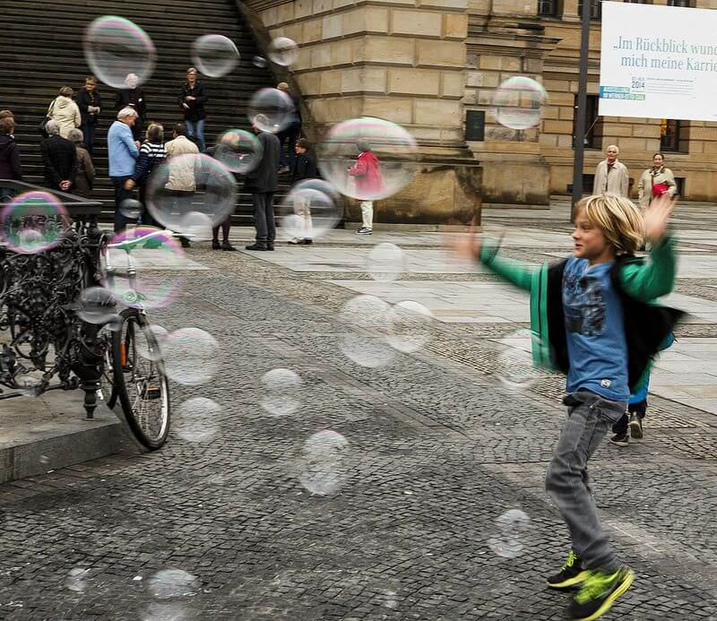 Richard Ricciardi Bubbles Berlin Germany