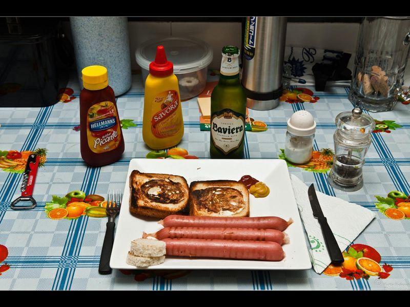 Pablo Reinsch sausage dinner