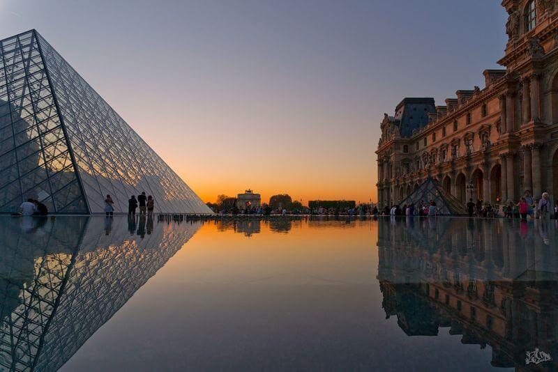 Paris, La Pyramide du Louvre