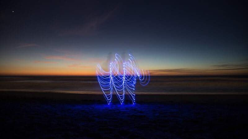 Dancing with LEDs