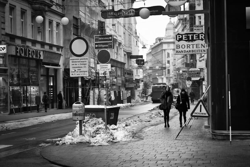 x1klima - Winter in Vienna, pure Urbanity