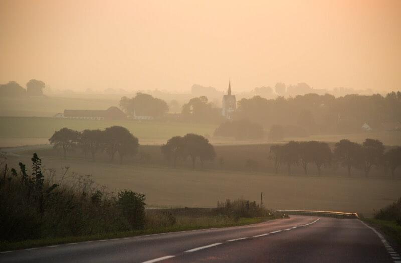Susanne Nilsson - Road at daybreak