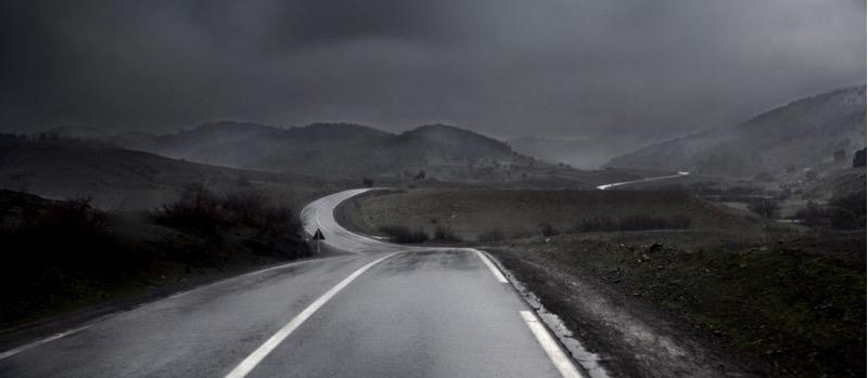 Julio López Saguar - Wet road