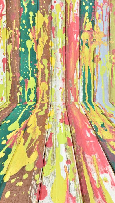 paint splatter photo backdrop