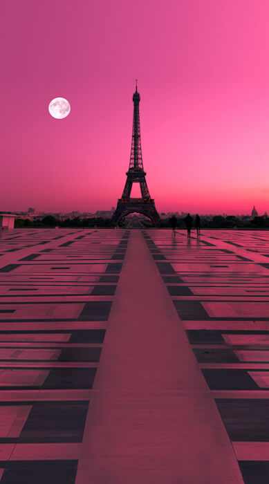 paris backdrop