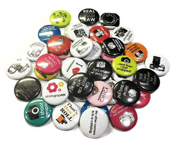 Photography Buttons