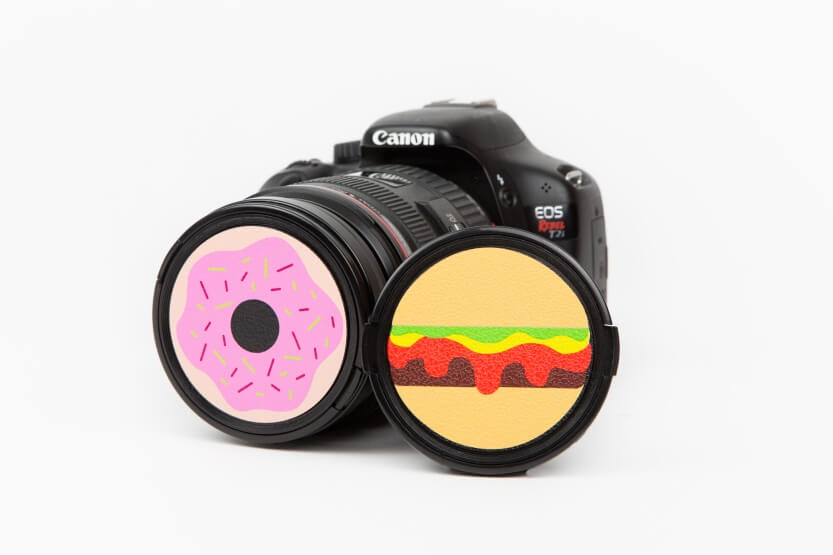 Snack Cap Lens Covers