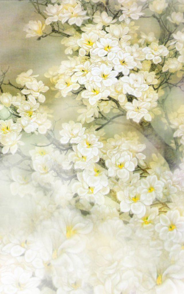 spring backdrop