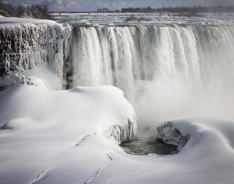 Elvir K - Niagara Falls SnowScape