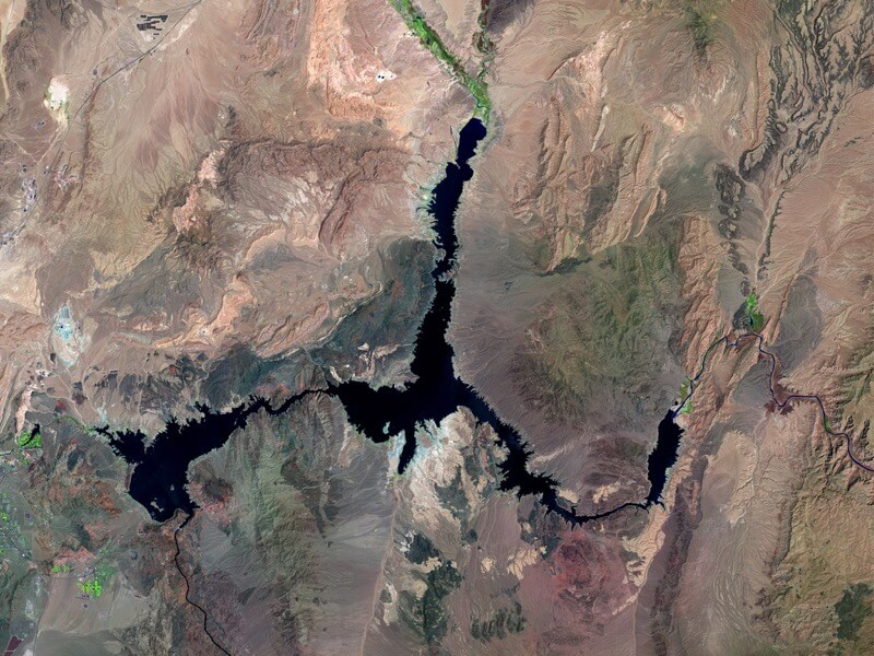 Lake Mead water loss after
