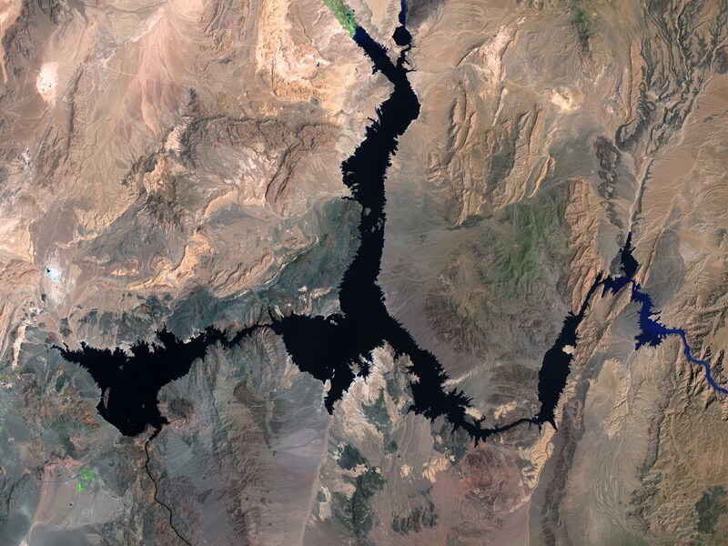 Lake Mead water loss before