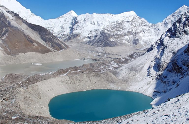 Nepal's Imja Glacier melt after