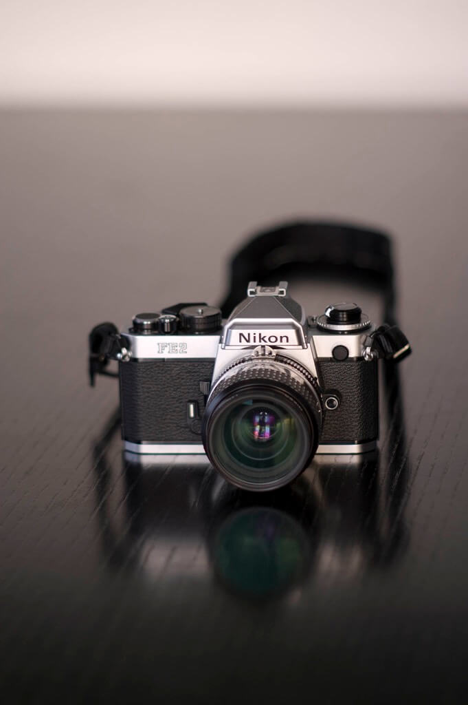Lucas Maystre - My Nikon FE-2