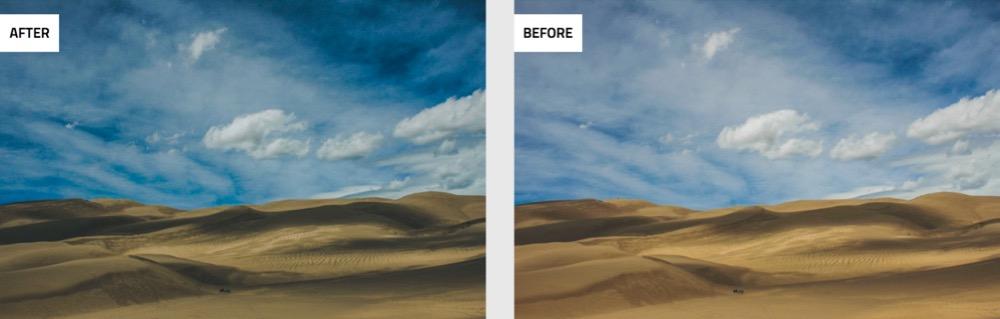 lightroom presets before after