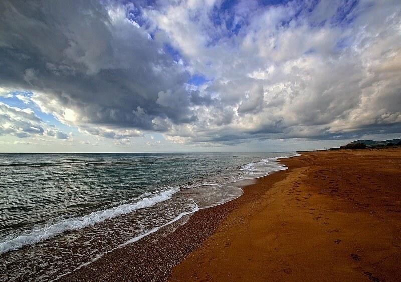 Grey Skies beach