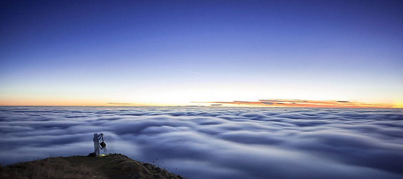 Philippe ABOULIN - photographer above clouds
