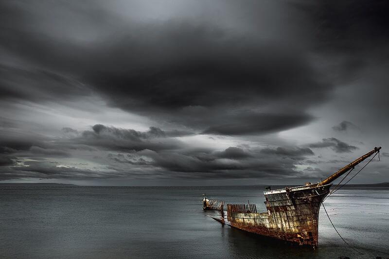 Hille Thomasson - shipwreck