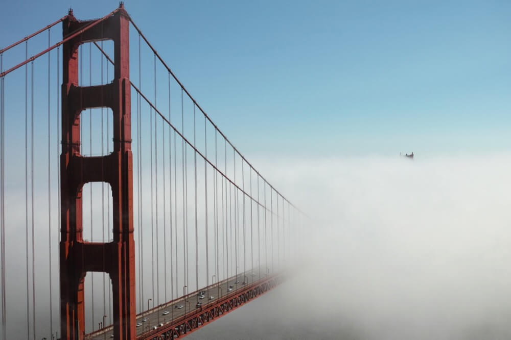 Jun Seita - Into the Fog, Golden Gate Bridge