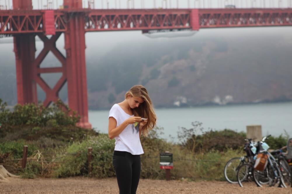 davebloggs007 - Framing the shot Golden Gate bridge