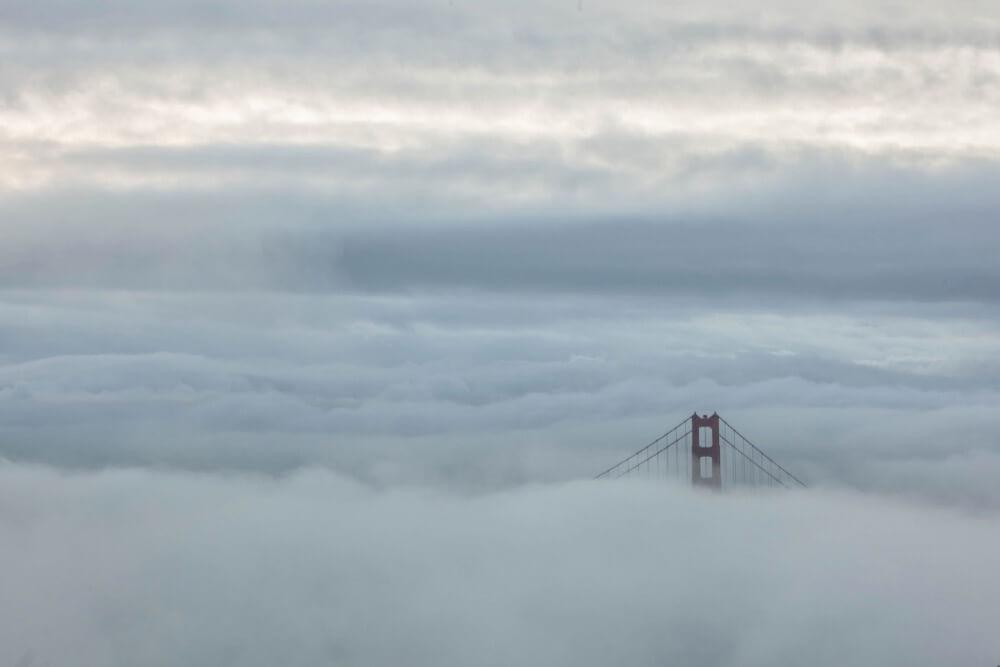 Anthony Quintano - Golden Gate Bridge Fog
