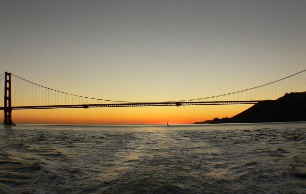 Bernard Spragg. NZ - The Golden Gate Bridge.