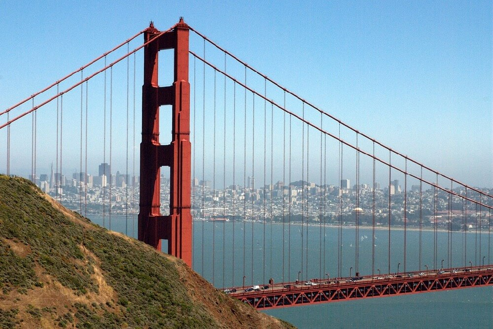 Ed Bierman - Golden Gate Bridge, Marin Headlands