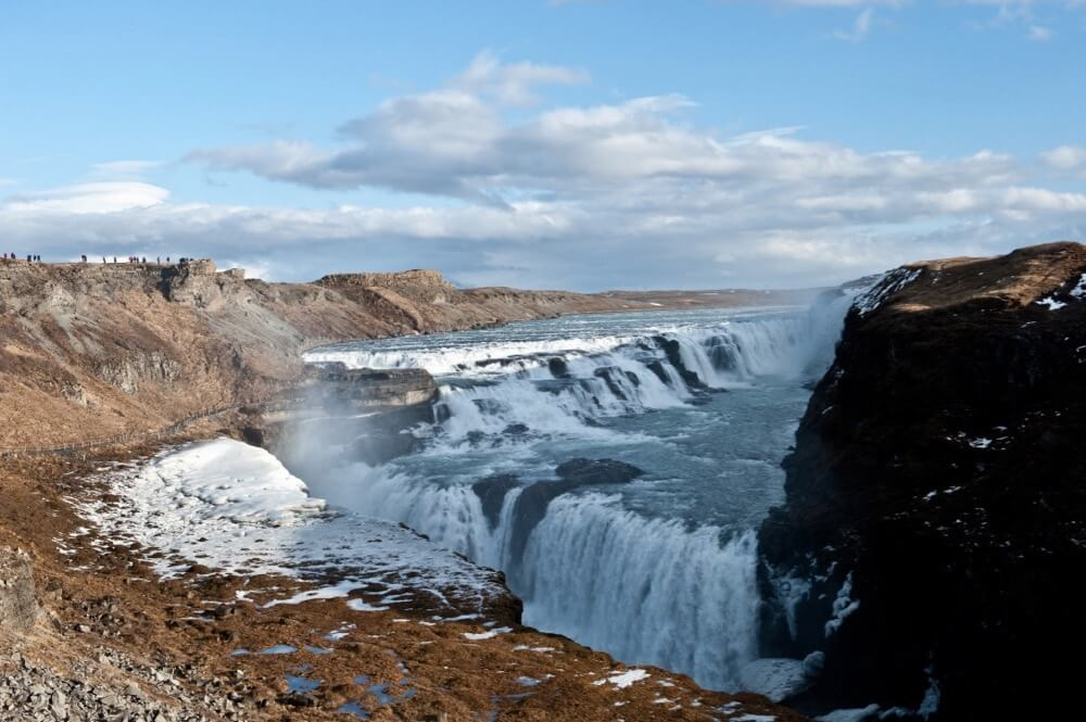 TausP. - Iceland Gullfoss Wasserfälle