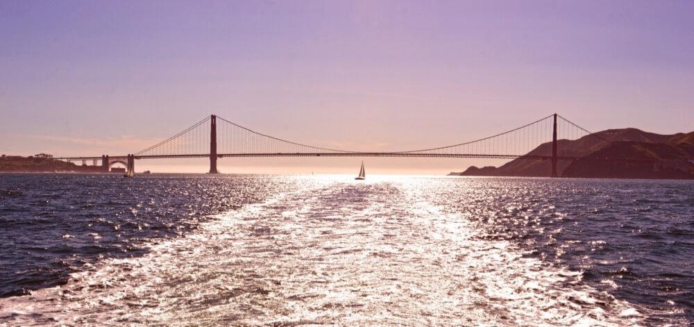 DARSHAN SIMHA - Sunset @ Golden Gate Bridge San Francisco