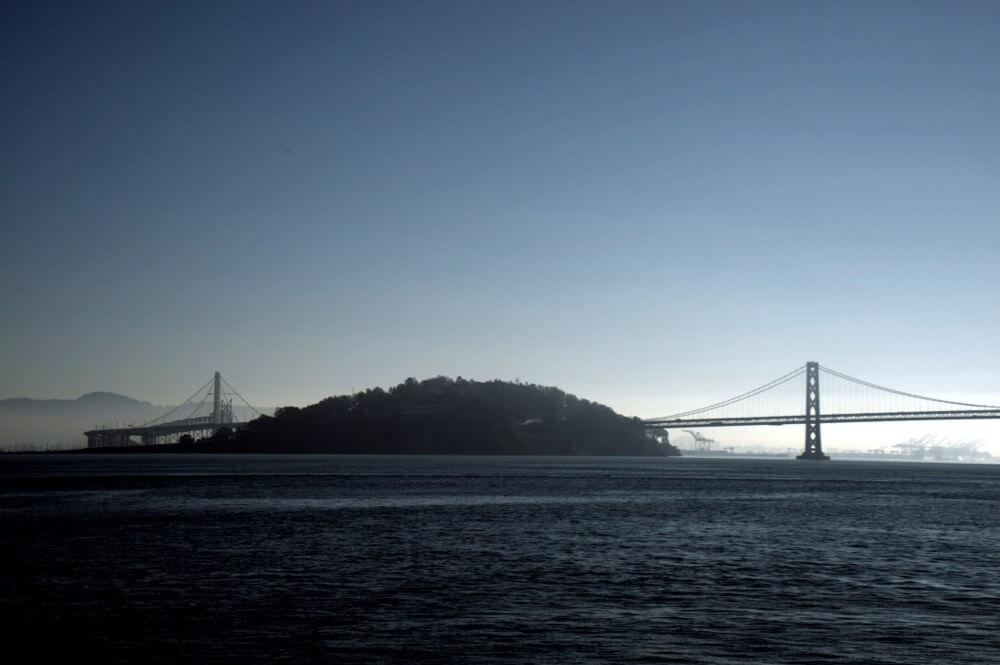 Travis Wise - Bay Bridge and Treasure Island