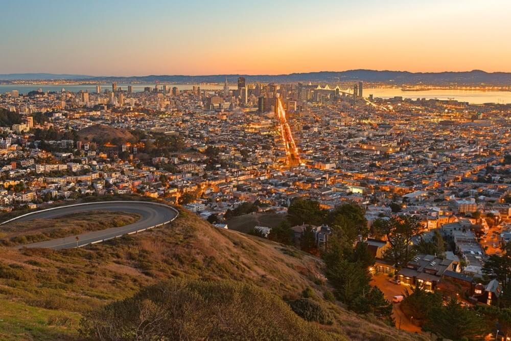 Nicolas Raymond - San Francisco Sunrise
