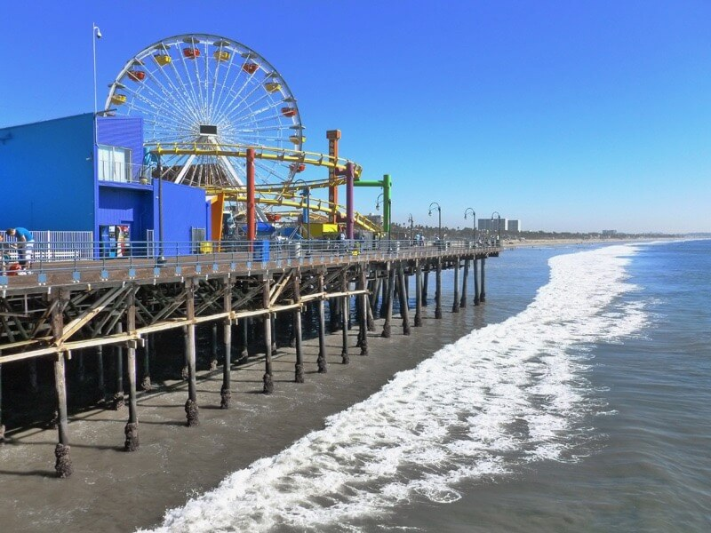 Ma Zannon - Santa Monica Pier