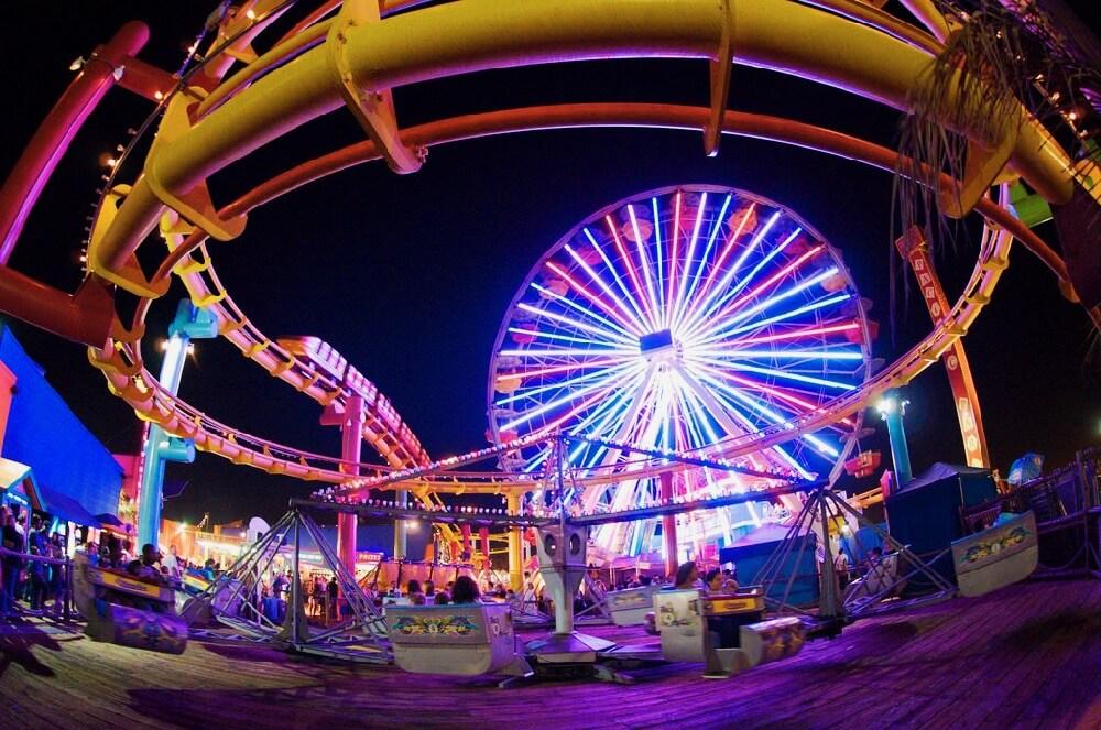 David Kosmos Smith - Santa Monica Pier, California