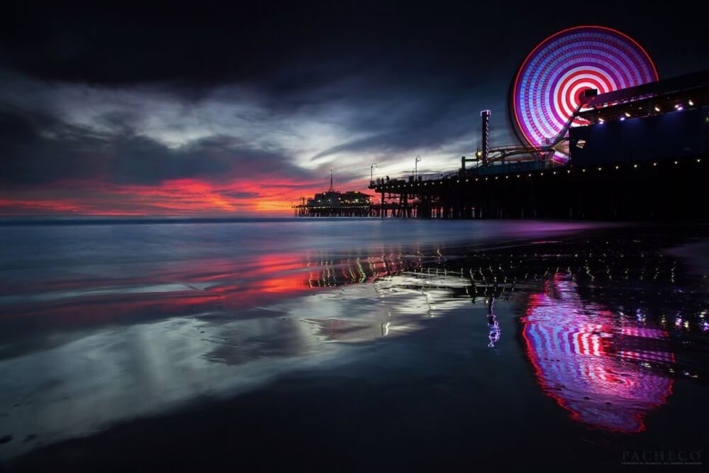Pacheco - The memory Seeker, Santa Monica Pier, Ca