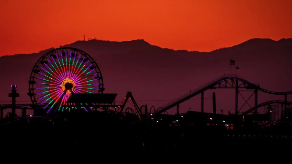Ian D. Keating - Pacific Park Sunset