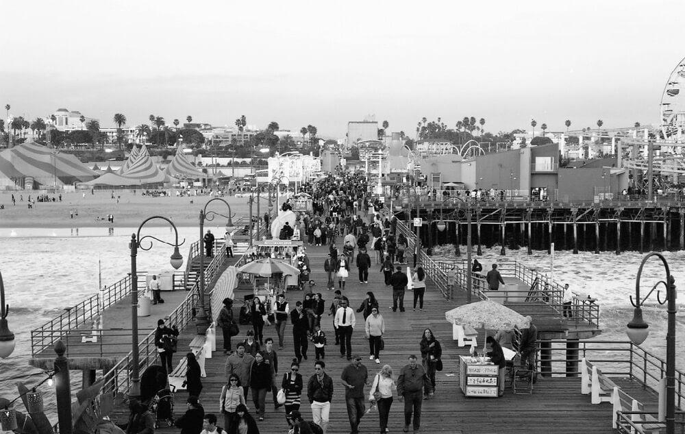 DualD FlipFlop - Santa Monica Pier