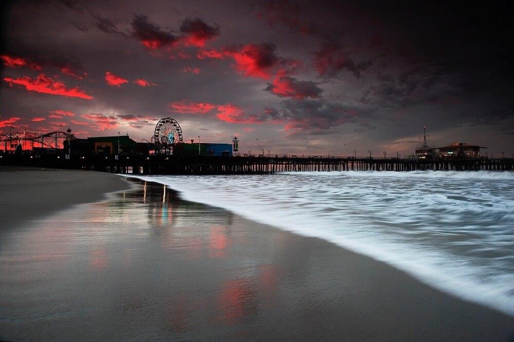 Pacheco - Santa Monica Pier at Sunrise - Lost Transmissions