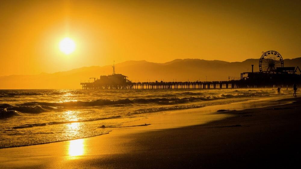 dziambel - Santa Monica pier