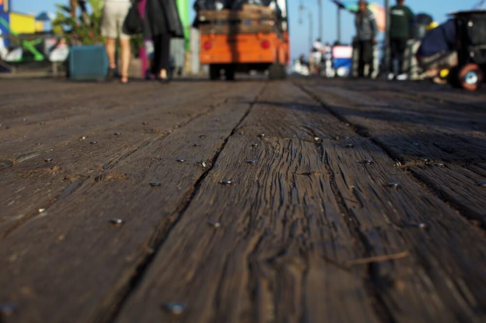 Maëlick - Santa Monica Pier's Floor