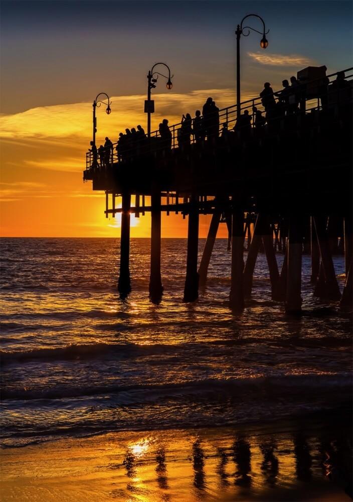 Rex Boggs - Santa Monica Pier