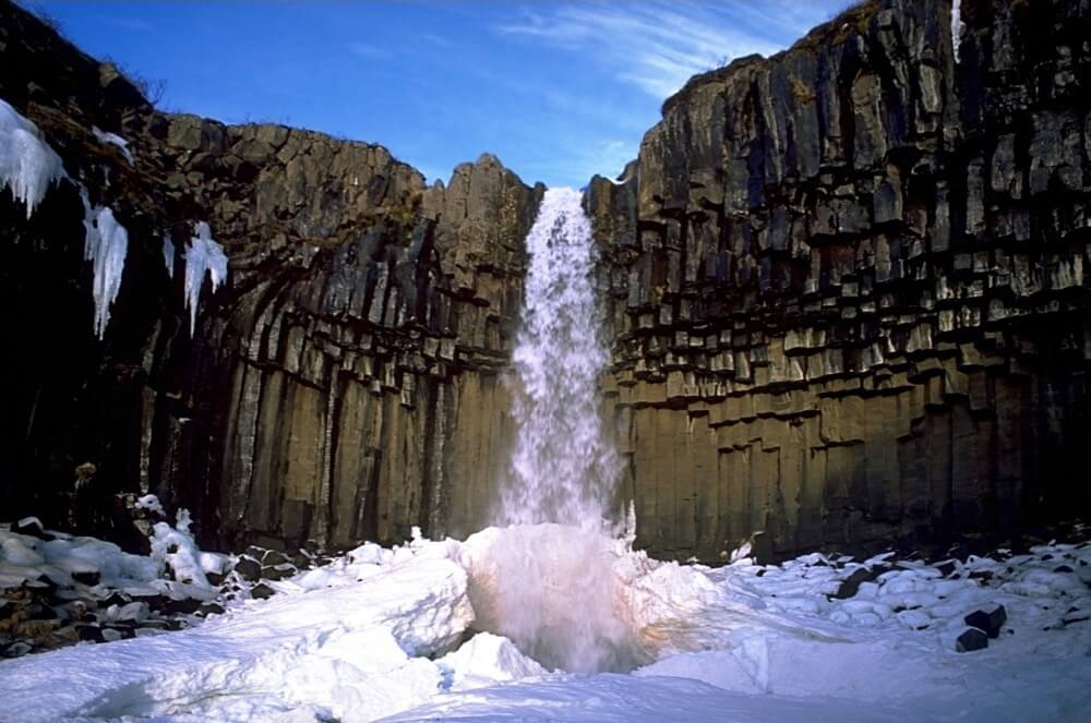 """Liangtai Lin - Location of """"Lava"""" Columns in Iceland"""