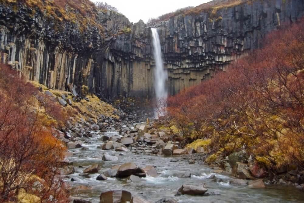 Martin Lopatka - Svartifoss Waterfall in Skaftafell