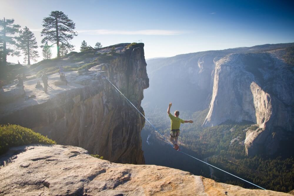 Jeff P - Yosemite Highlining