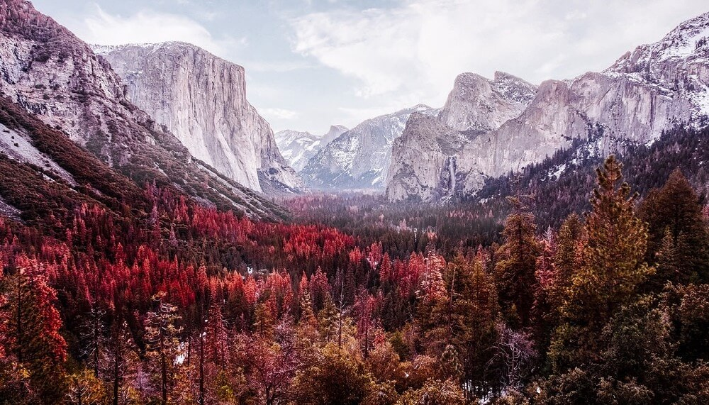 Sonny Abesamis - Yosemite Tunnel View