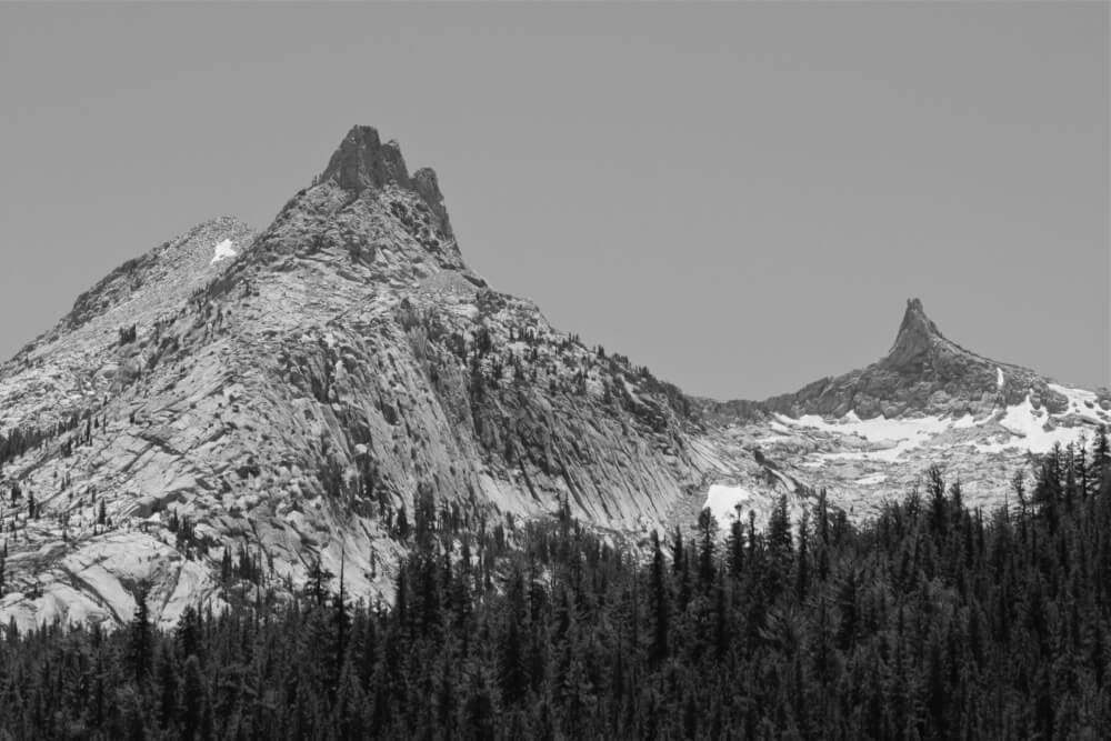 Roy Luck - Cathedral Peak above Tuolumne Meadows