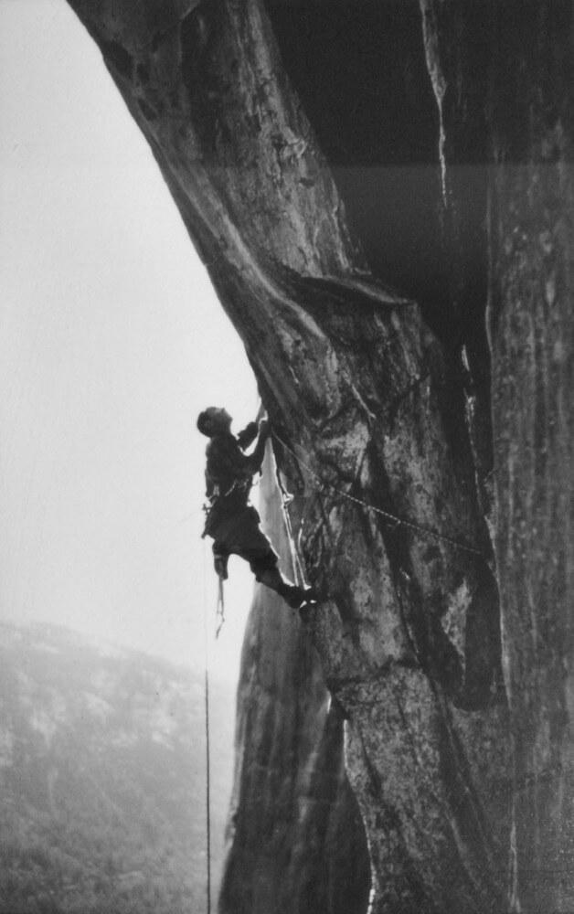 Sam Beebe - YC on El Capitan by Tom Frost