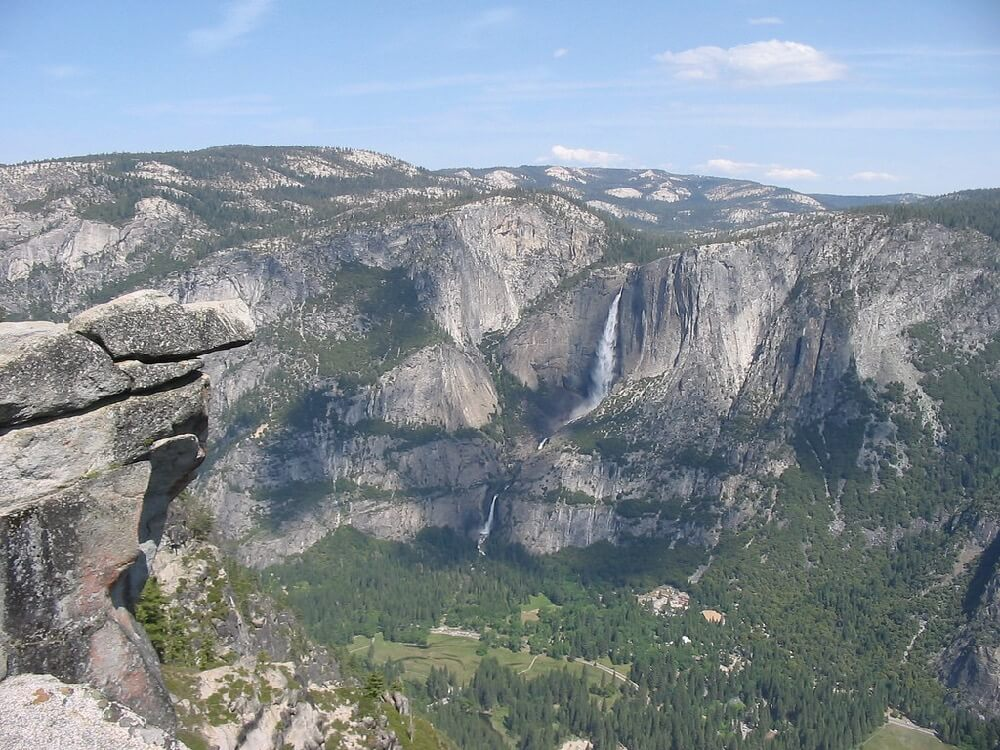 CHeitz - Yosemite Falls, from Glacier Point