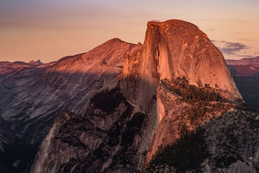 Nemanja Pantelic - Half Dome sunset