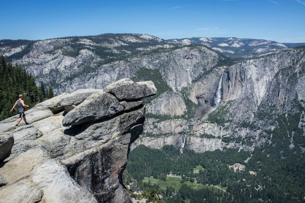 ben.sam - I am Danish and I am daring  Glacier point, Yosemite, CA
